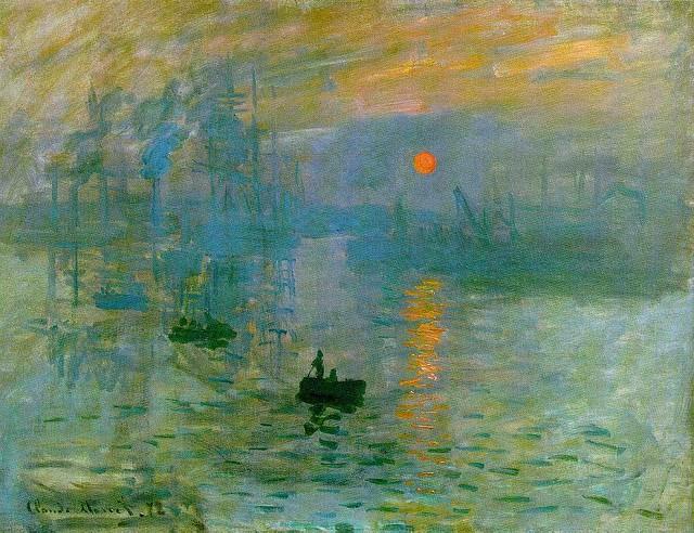 Claude Monet - Soleil Levant