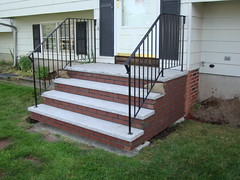 granite steps 1-piece platform