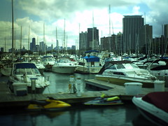 Tilt-Shift: Along the Chicago Lakefront (spooniep) Tags: chicago retro lakefront grungy tiltshift 5000t neingrenze