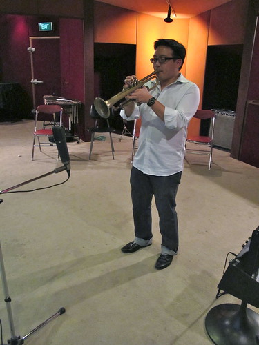 Daniel on Trumpet (for Song to Barbie)