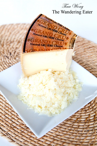 Grand Cru Gruyere cheese (grated)