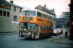 YNA344M - Birmingham 1988 (Walsall1955) Tags: birmingham smiths gmpte selnec gmbuses northerncounties ncme daimlerfleetline greatermanchesterbuses crg6lxb 50y yourbus selnecpte yna344m