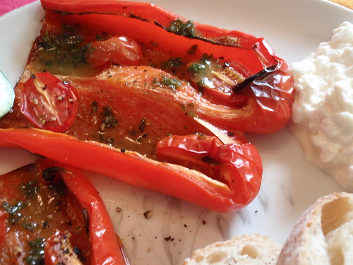 Peppers on Plate