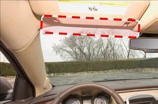 Sicht im und aus dem Fahrzeug