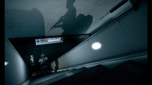Battlefield 3 - Down the escalators