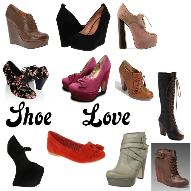 Shoe Love Collage