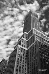 New York memories (Andrea Rapisarda) Tags: street nyc newyorkcity sky urban blackandwhite usa blancoynegro clouds buildings nuvole skyscrapers olympus cielo grattacielo biancoenero oly e620 andrearapisarda
