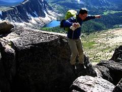Chasm Jumper (Dru!) Tags: usa washington jump okanagan cascades wa chasm scramble northcascades cathedralpeak cascademountains scrambling okanogan pasayten stemalot pasaytenwilderness okanaganrange