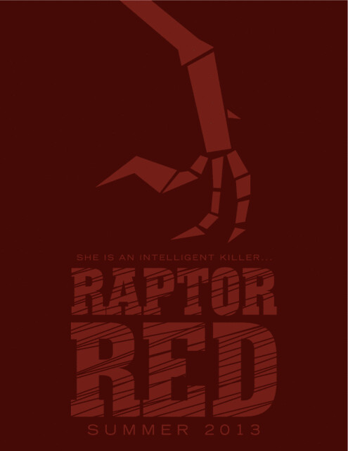 Raptor Red Teaser Poster