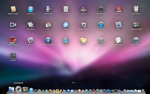 Launchpad Mac OS X Lion