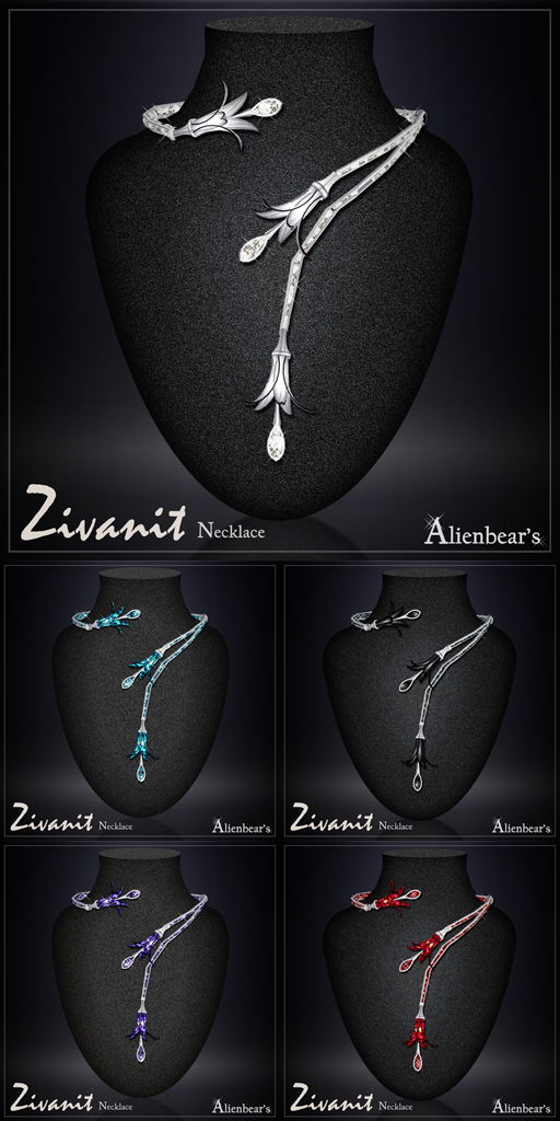 Zivanit necklace white
