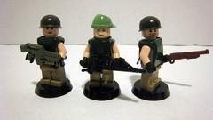 Aliens Colonial Marines (The Brick Guy) Tags: lego aliens prototype hudson drake hicks minifigures colonialmarines smartgun brickarms m1a1pulserifle