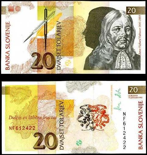 20 Toliarov Slovinsko 1992, Pick 12