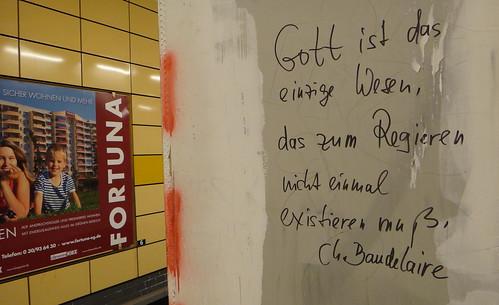 Poesie U-Bahn