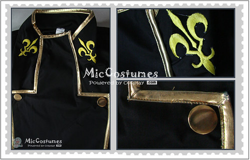 Code Geass Lelouch Lamperouge Cosplay Costume1