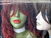 ghastly mannequin (JessiQua) Tags: green mannequin dolls faces nj fake creepy plastic odd unioncity windowdisplay bizarre blankstares bergenline