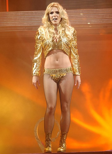 Britney spears fishnet pantyhose you