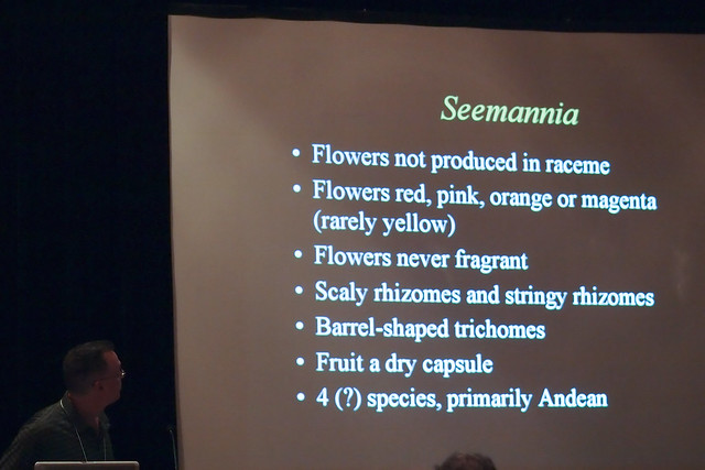 John Boggan speaking about Seemannia at The Gesneriad Society Convention 2011