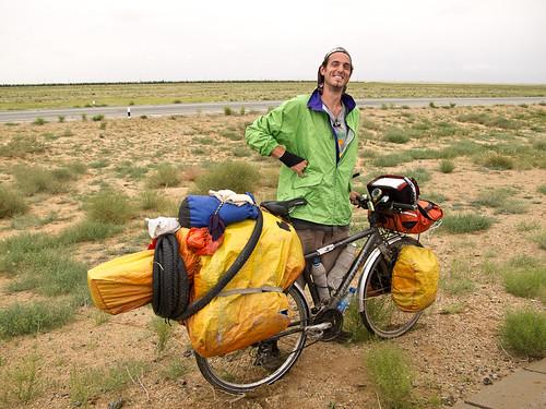 Dutch cycle tourist