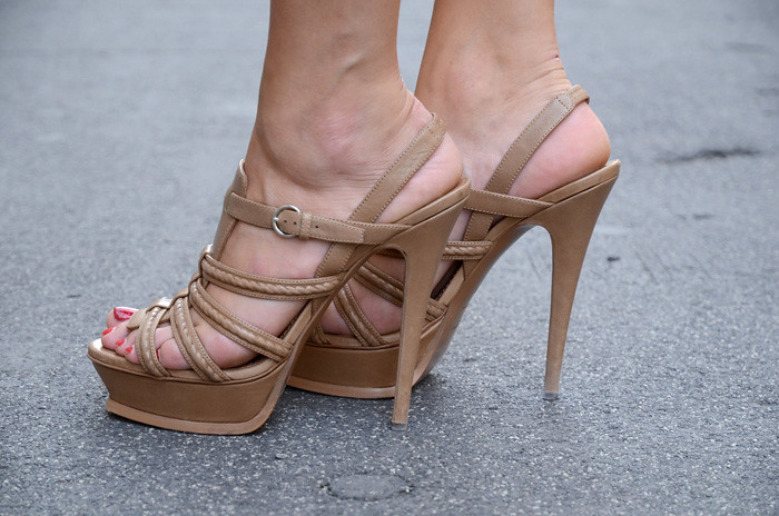 Yves Saint Laurent Sandals The Blonde Salad