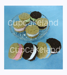 Bolachas de feltro (Cupcakes de tecido Cupcakeland) Tags: biscoitodefeltro docesdefeltro bolachasdefeltro