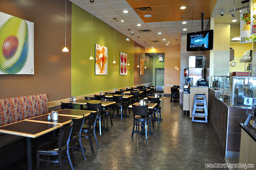 Dining Area at Z Pizza ~ Roseville, MN