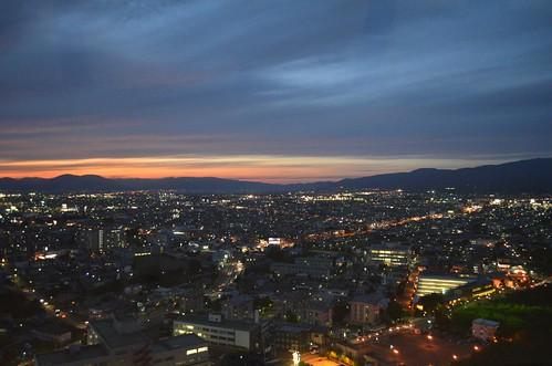 五稜郭タワーからの景色