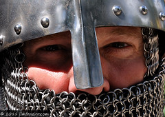 Crusader - Up Close (Jim Frazier) Tags: costumes portrait people usa man