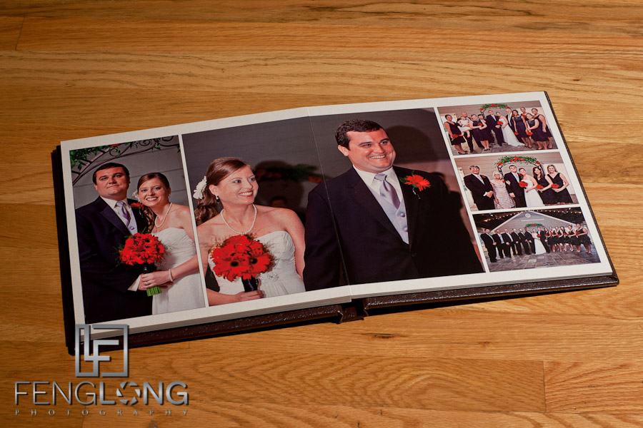 [Blog Photos] Brandi & Bryan's Wedding Album Delivered