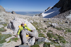 Knackered (Mark Griffith) Tags: climb hiking hike jackson adventure climbing mountaineering wyoming tetons jacksonhole overnighter sethneilson tetonnationalpark 20110812dsc1216