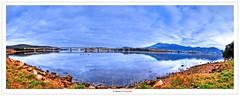 Hobart (Damon | Photography) Tags: trip travel panorama cloud nature landscape high nikon dynamic cloudy pano sigma tasmania mm hobart tas range damon hdr highdynamicrange sigma1020mm d90 highdynamic nikond90