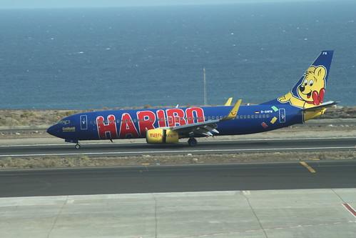 TUIfly Boeing 737-800 'GoldbAir' @ Tenerife Sur Airport