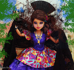 OLE!!!..The Great Gipsy Ladies of Spain.. Model is WILLOW! ..September 12 is the deadline. (FASHION ICONZ-&-The1&OnlyPrinceEfrainLoves2shine#1) Tags: doll boyz girlz mga moxie bratz bntm