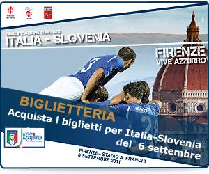 Italia vs Slovenia banner