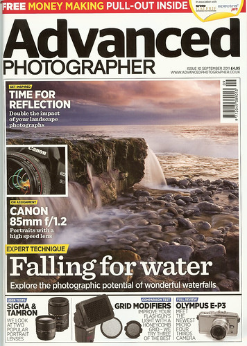 Advanced Photographer (Sept 2011) by Mark Carline