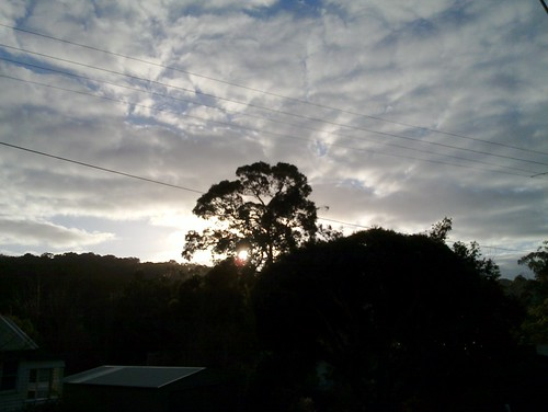 Sunrise over Mount Dandenong