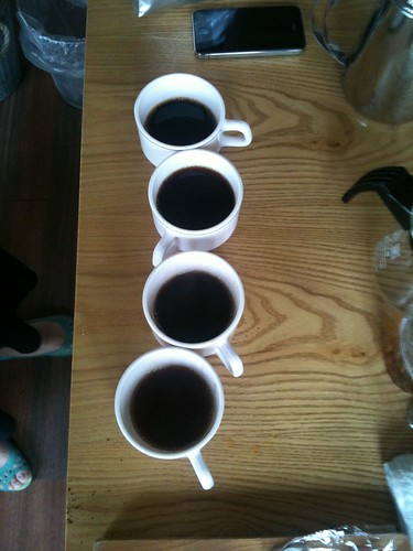 Learning Hand drip coffee