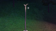 Re-Purposed Petrified Tree Lamp