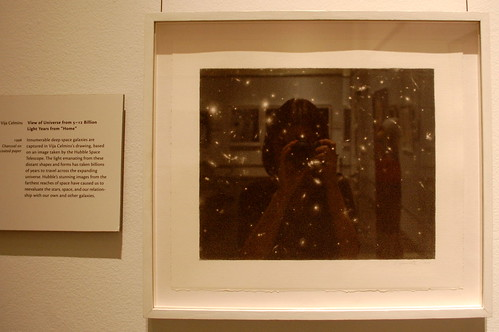 Vija Celmins, View of the Universe from 5-12 Billion Light Years from 'Home'