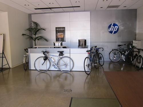 Bikes at HP