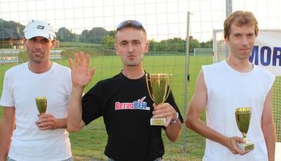 V Chlebovicích se radoval z vítězství Daniel Šindelek