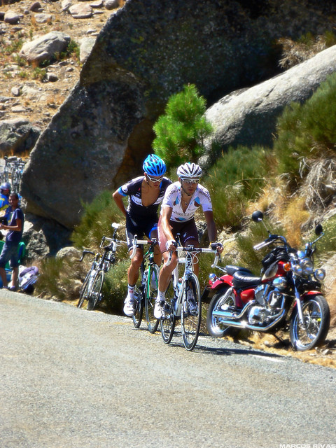 Vuelta a España 2011 - Puerto de Mijares - Escapados
