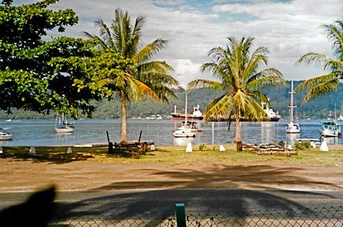 Rabaul Harbor, 1989