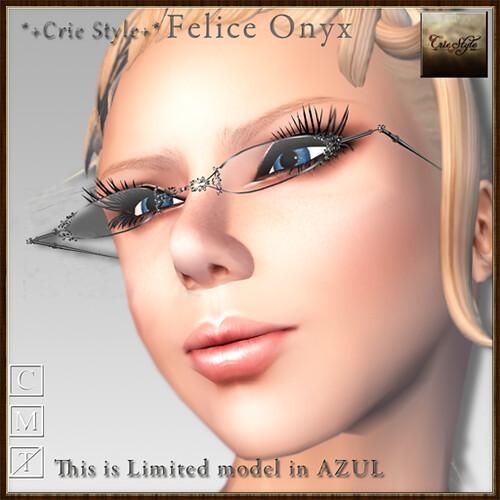 *+Crie Style+* Felice Onyx / AZUL Limited Edition