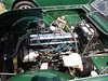 Triumph TR4  TR250(2) (cjp02) Tags: show classic car vintage indiana days british motor zionsville fujipix av200 cjp02 triumphtr4tr250indy