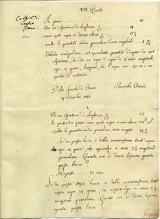 Relazione tecnica e stima dell'astronomo Barnaba Oriani per lo sfruttamento delle acque irrigue dei poderi di Videserto con Cantalupo del 1787.