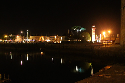La Rochelle at Night