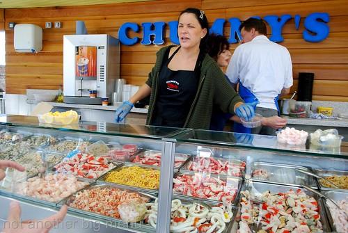 Folkestone, England - Chummys Seafood