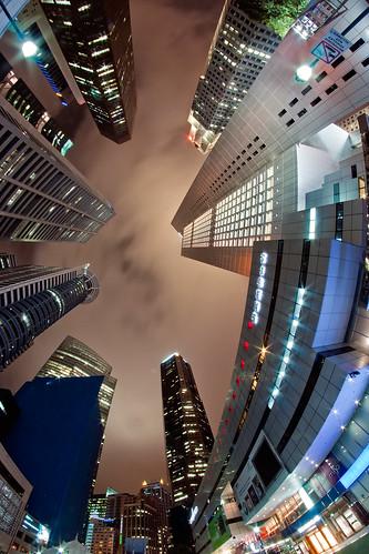 [フリー画像] 建築・建造物, 高層ビル, シンガポール, 201109020100