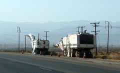 Road Construction Stuff (Photo Nut 2011) Tags: california construction surfaceminer